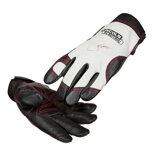 gants en cuir steel worker™, taille s