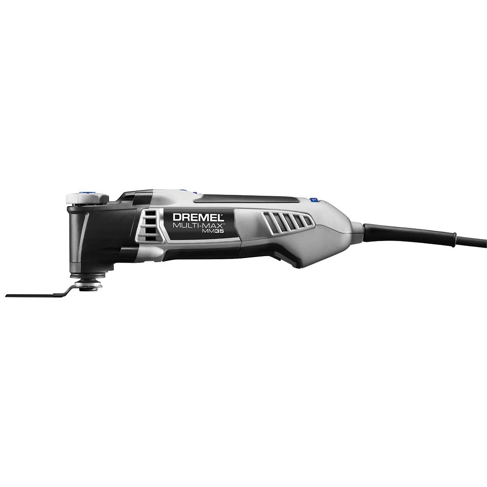 Dremel 18V Multi-Max Corded Oscillating Tools Kit with 12 Accessories and Storage Bag