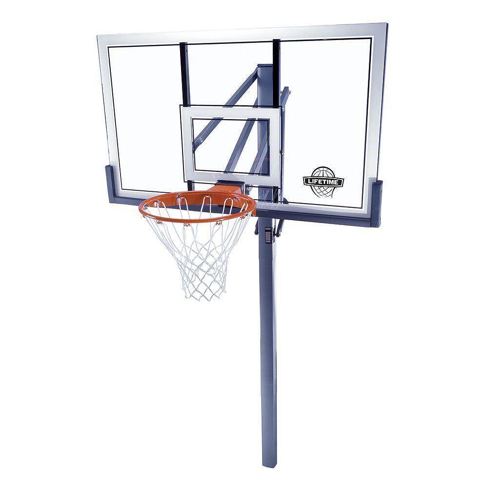 Lifetime Basket-ball au sol en acrylique de 1,38m (54po)