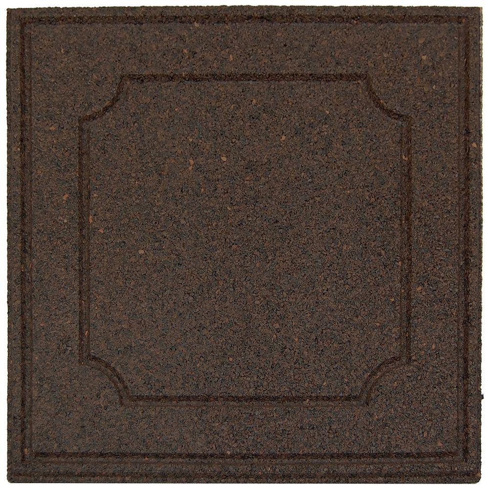 Envirotile Provincial envirotile, Sable - 18 po x 18 po -  Paquet 1040
