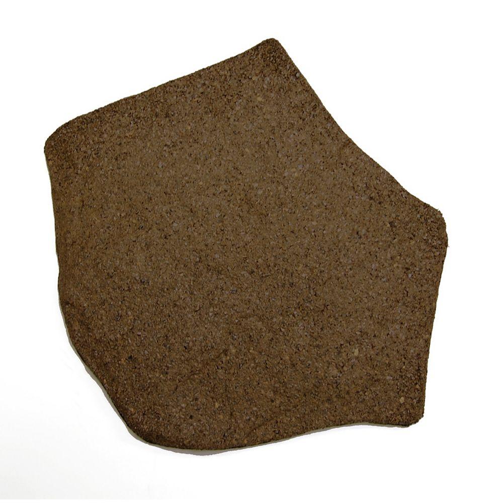 Envirotile Tremplins, terre - 18 po x 18 po - (paquet de 1040)