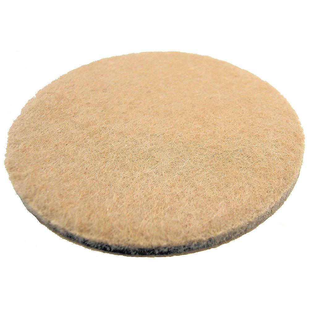 Everbilt Patins de feutre autoadhésifs robustes de 50 mm (4 par paquet)