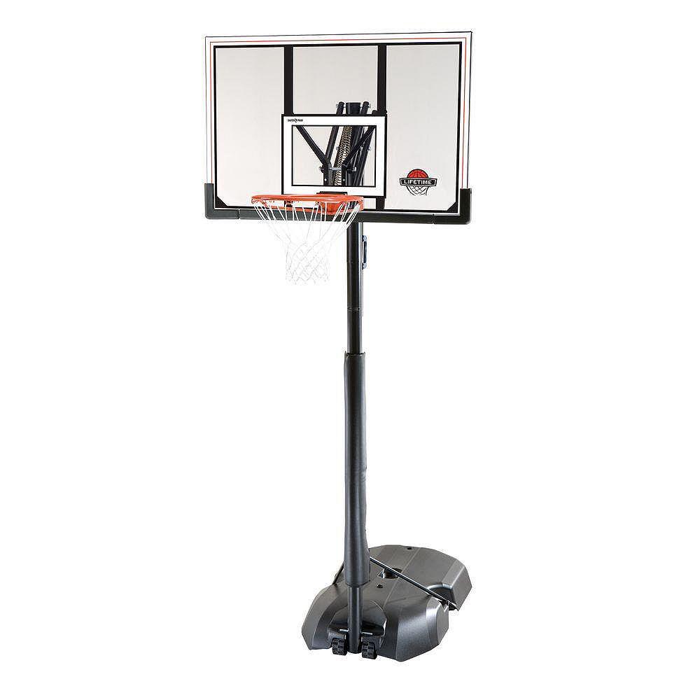 Lifetime Système de basketball portable acrylique à structure en acier 1,27 m