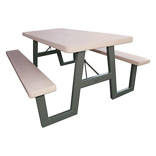 Table de pique-nique pliante en A de 1,83m (6pi)