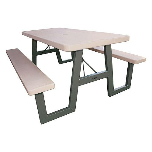 6 ft. A-Frame Folding Picnic Table