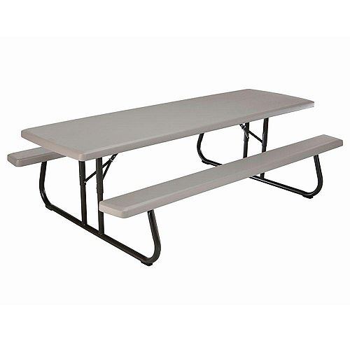 8 ft. Commercial-Grade Folding Picnic Table