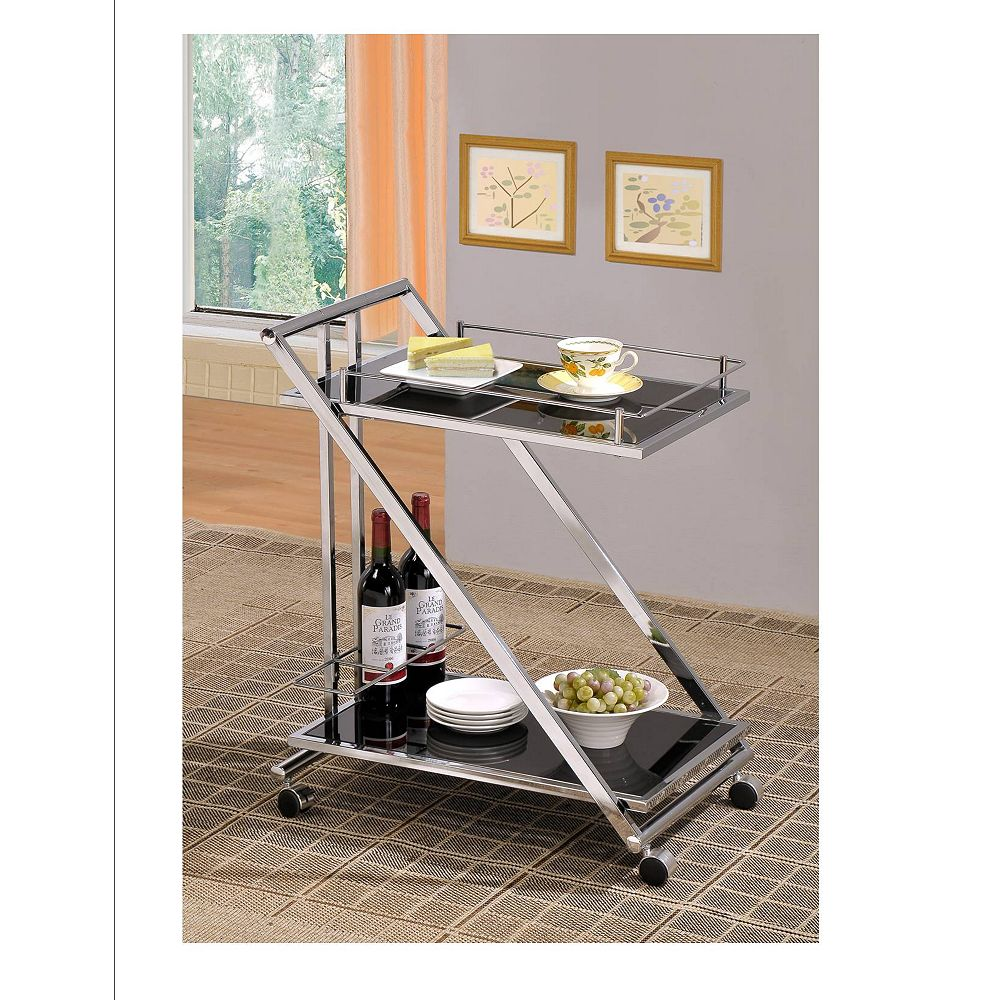 Worldwide Homefurnishings Inc. Mod chariot a 2 niveaux