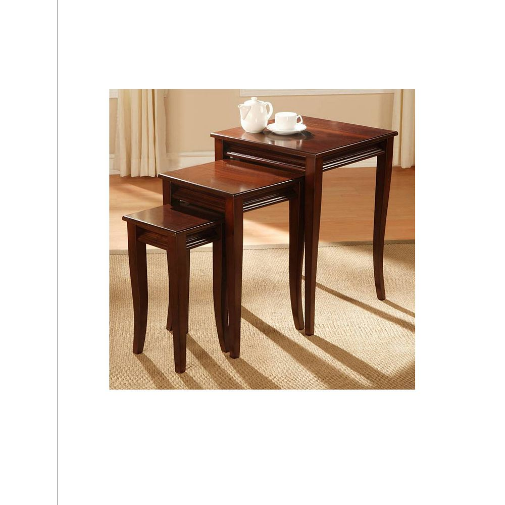Worldwide Homefurnishings Inc. Carina jeu de 3 tables gigones