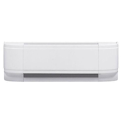 500W Linear Convector Baseboard Heater in White