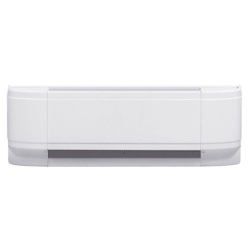 500W Linear Convector Baseboard Heater in White