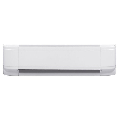 750W Linear Convector Baseboard - White