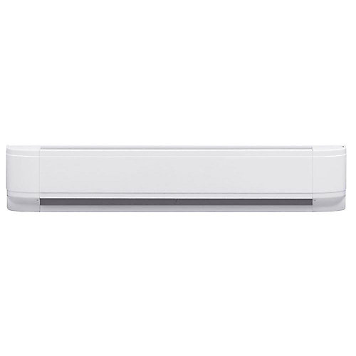 1250W Linear Convector Baseboard - White