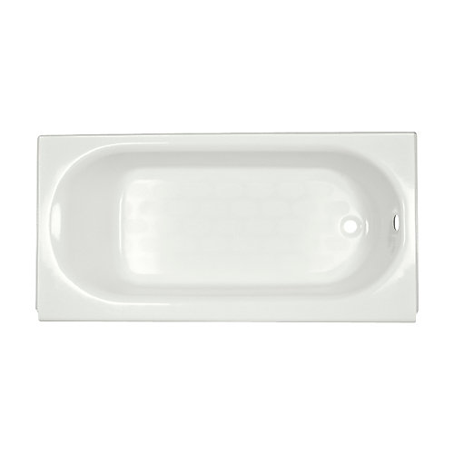 Princeton 60 inch Right Hand Drain Rectangular Alcove Bathtub in White