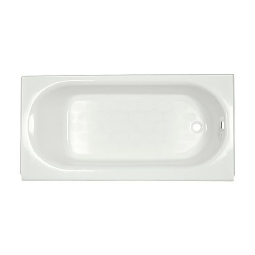 Princeton 60 inch Rectangular Right Hand Drain Rectangular Alcove Bathtub in White