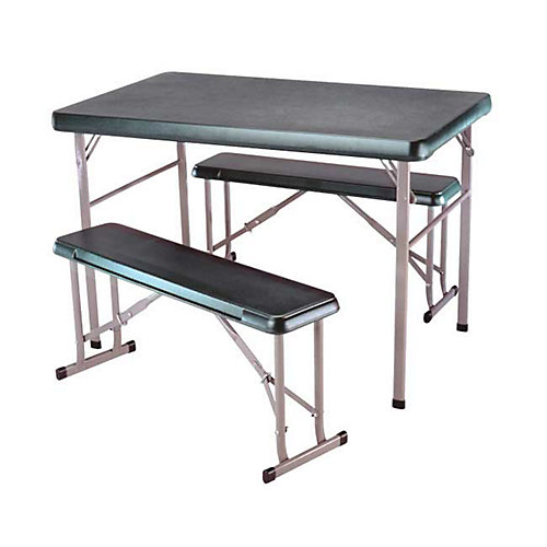 Sport Table With 2 Benches - Green