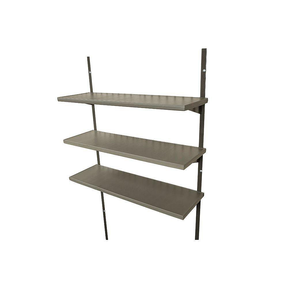 Lifetime Ensemble de troistablettes 75cm (30po) pour les remises de 2,44m (8pi) de largeur