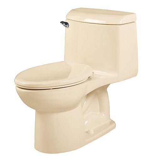 Champion 4 1-piece 1.6 GPF Single Flush Tall Height Elongated Toilet in Bone