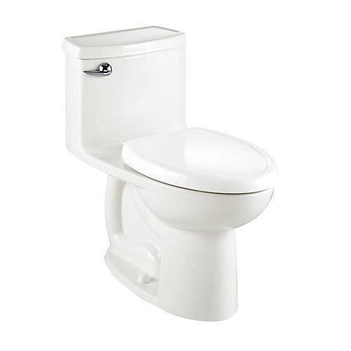 Compact Cadet 3 4.8 LPF 1-Piece Single-Flush Elongated Bowl Toilet in White