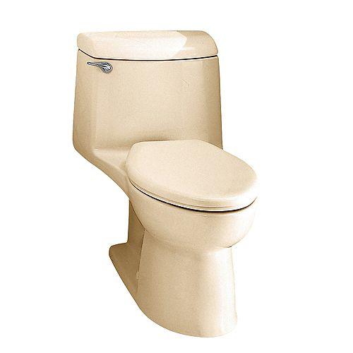 Champion 4 6 LPF 1.6 GPF 1-Piece Single-Flush Elongated Bowl Toilet in Bone