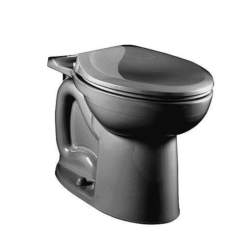 American Standard Cadet 3 1.6 GPF Cuvette de toilette à cuvette allongée uniquement en noir