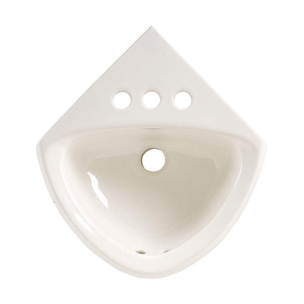 American Standard Corner Minette Wall-Mount Bathroom Sink ...