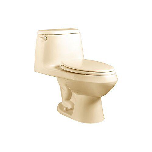 Cadet 1-piece 1.6 GPF Elongated Bowl Toilet in Bone