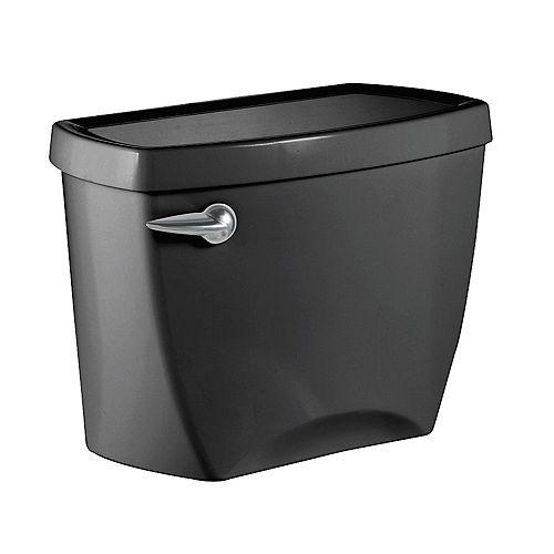 American Standard Champion 4 1.6 GPF Réservoir de toilette à chasse unique uniquement en noir