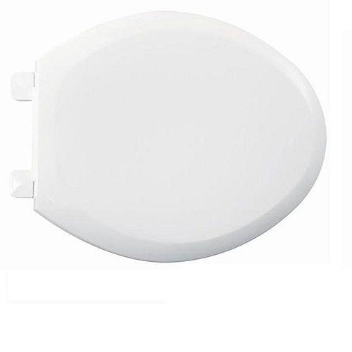 American Standard Siège de toilette avant fermé allongé Everclean en blanc