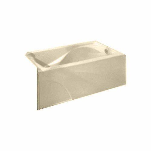 American Standard Princeton 60 pouces W Drop-in Oval Right Drain Rectangular Alcove Bathtub in Linen