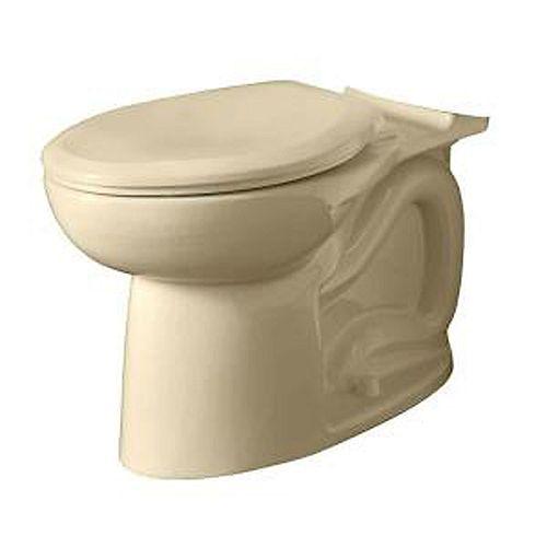 American Standard Cadet 1.6 GPF 3 Cuvette de toilette à cuvette allongée uniquement en os