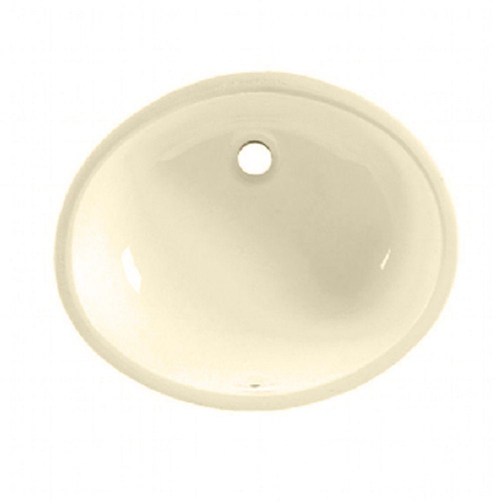 American Standard Ovalyn Oval Undermount Bathroom Sink In Bone The Home Depot Canada