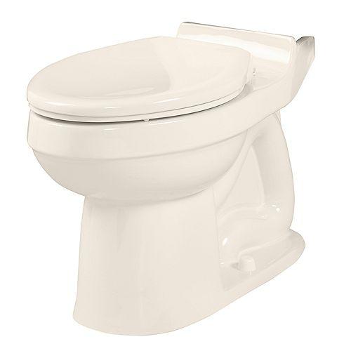American Standard La cuvette de WC allongée Champion, uniquement en lin