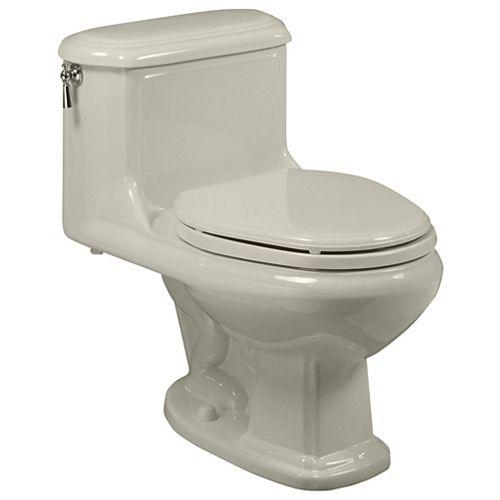 American Standard Antiquité 6 LPF 1,6 GPF 1 pièce Toilettes à cuvette allongée à chasse unique en lin