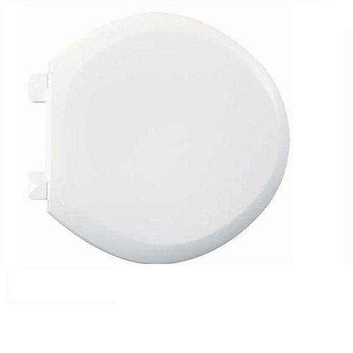 American Standard Siège de toilette avant fermé Everclean Round en blanc