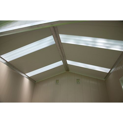 Translucent Skylight Panel Kit for  S8070 Shed