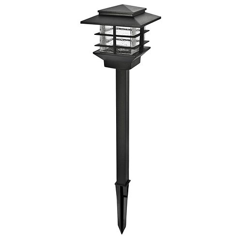 Low Voltage 3W Black Outdoor Integrated LED Cast Aluminum Landscape Path Light