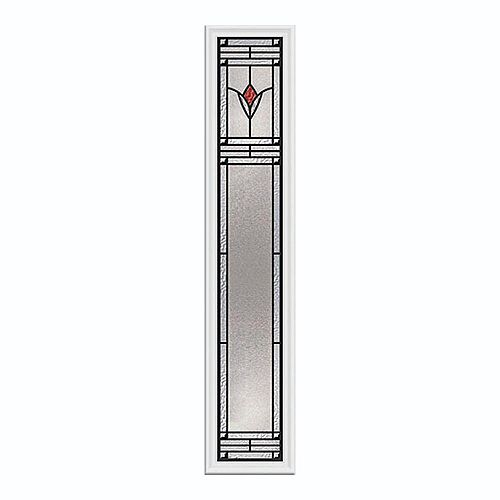 Arum 8-inch x 48-inch Sidelight Patina Caming with HP Frame