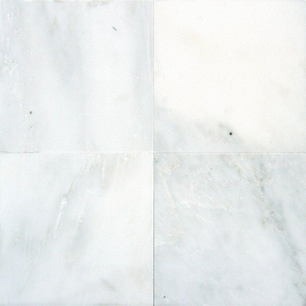 MSI Stone ULC Greecian White 6-inch x 6-inch Polished Marble Floor and Wall Tile (1 sq. ft. / case)