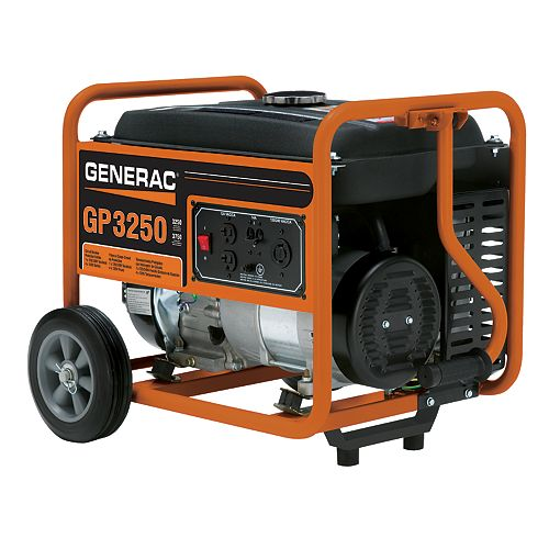 3,250W Gasoline Powered Portable Generator