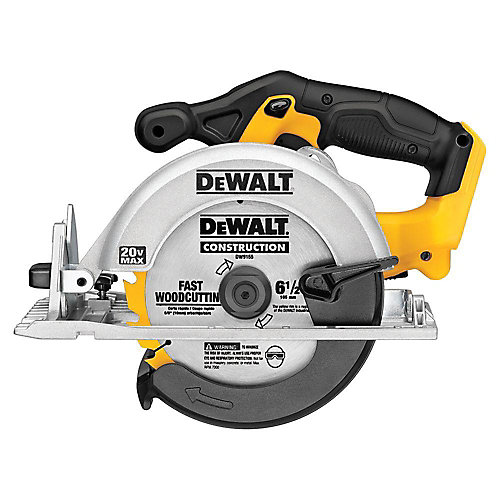 20V 6-1/2-inch MAX Lithium-Ion Cordless Circular Saw (Tool-Only)