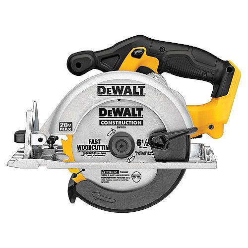 20V MAX Lithium-Ion Cordless 6-1/2-inch Circular Saw (Tool-Only)