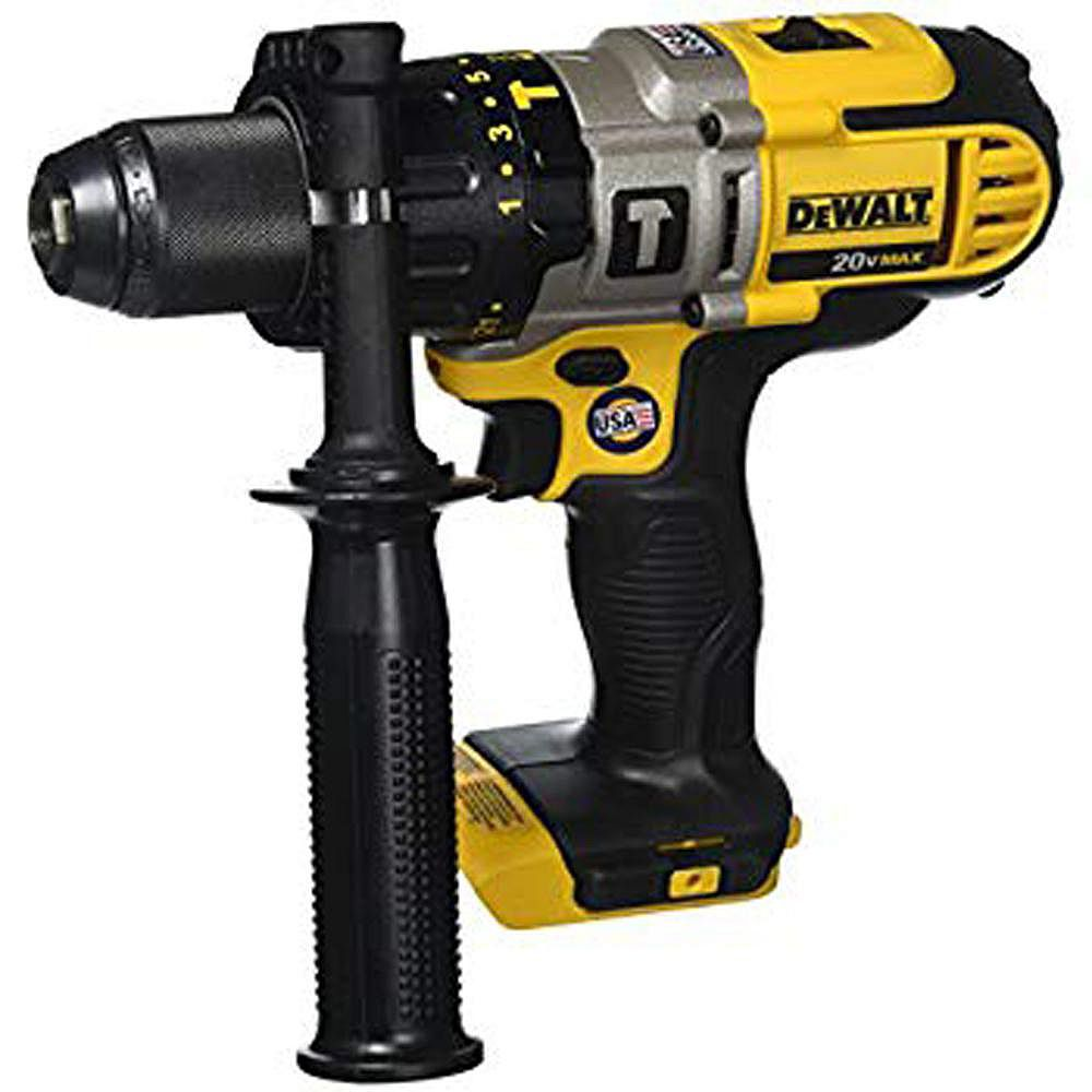 Dewalt 20v Max Lithium Ion Cordless 1 2 Inch Hammer Drill Drill Driver Tool Only The Home Depot Canada