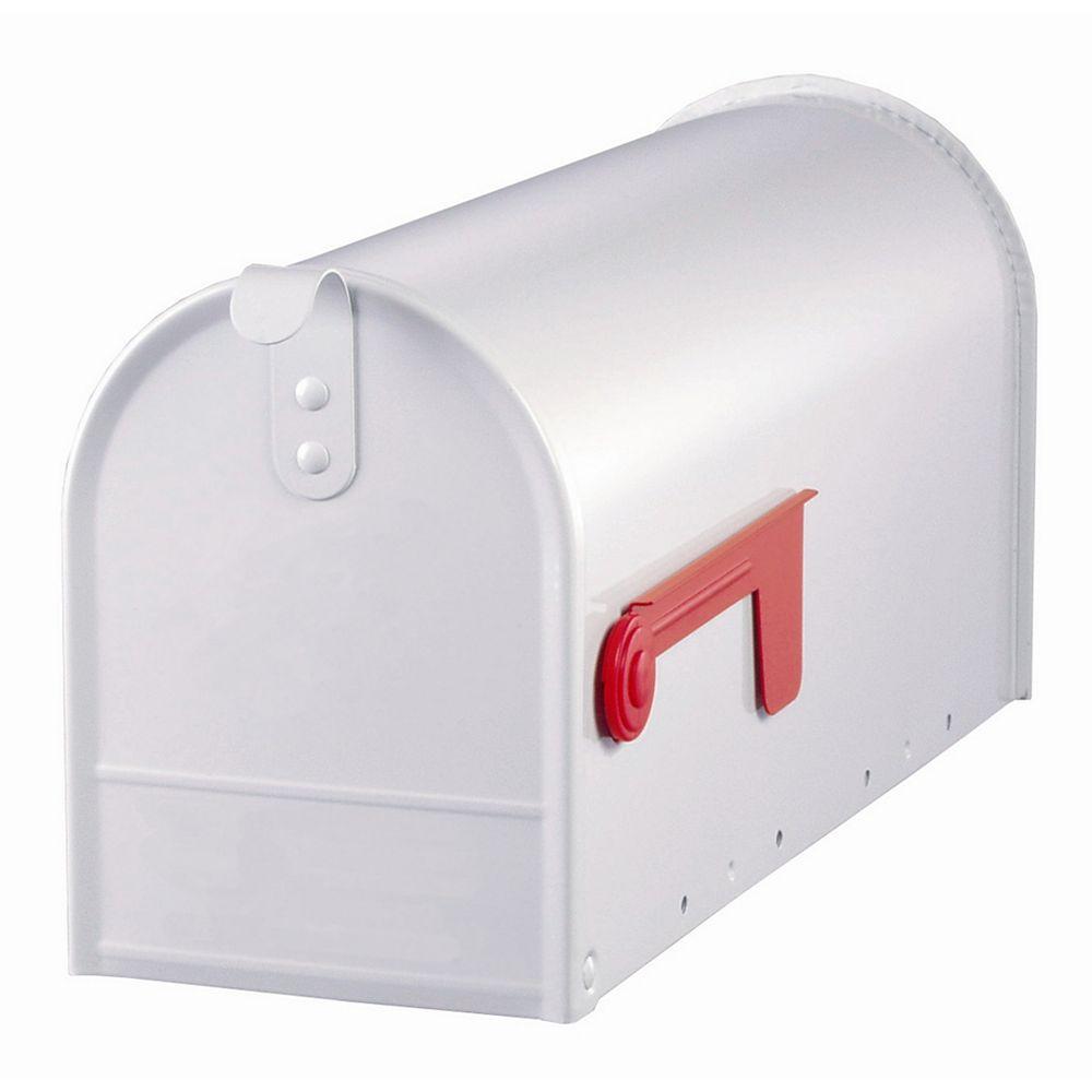 Gibraltar Industries Boîte aux lettres Elite blanche