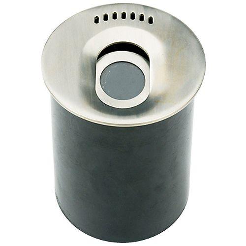 1-Light Well Light Stainless Steel Finish