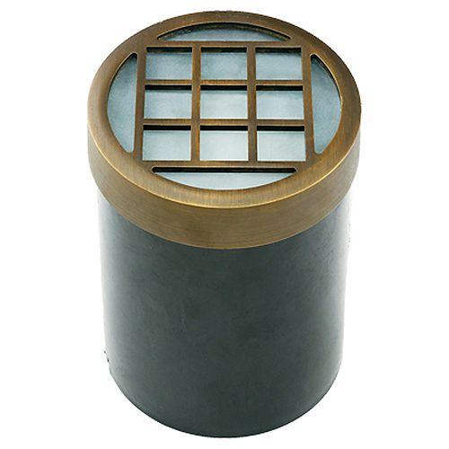 1-lumière Well lumière Antique Bronze Finish