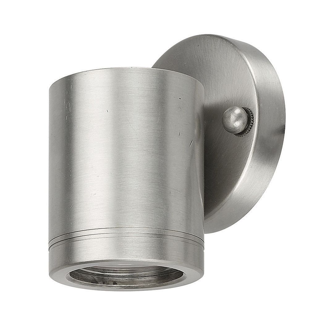 Best Quality 1-Light Down Light Wall Mount Light Stainless Steel Finish