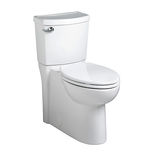 Cadet 3 2-Piece Single-Flush Elongated Bowl Toilet in White