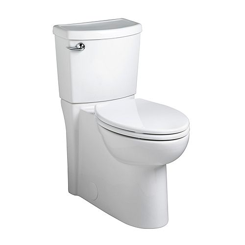 Cadet 3 2-Piece 1.28 GPF Single-Flush Elongated Bowl Toilet in White