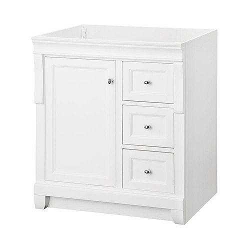 Naples 30-inch W x 21.75-inch D Bath Vanity Cabinet in White