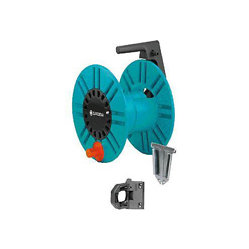 Wall-Fixed Hose Reel with Guiding Reel